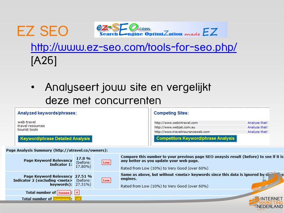 EZ SEO http://www.ez-seo.com/tools-for-seo.php/ [A26]
